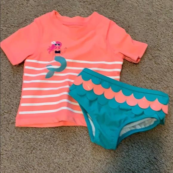 975f9313a Carter's Swim   Carters Baby Girl Suit   Poshmark
